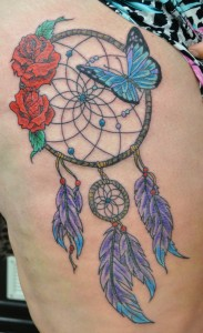 Dream Catcher by Caz @Cooloola Tattoo