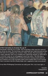 '93 Australian Tattoo
